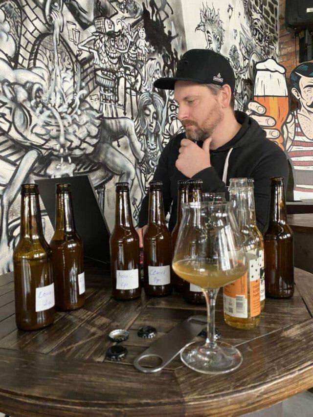 kraftpaule-Cider trinken und testen